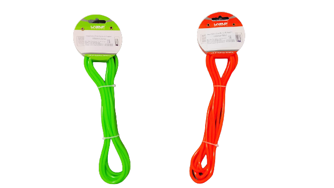 Coarda de Sarit pentru Antrenamente Sportive in Viteza Material PVC pentru Copii sau Adulti Model Universal Premium, 275cm, Neon [2]