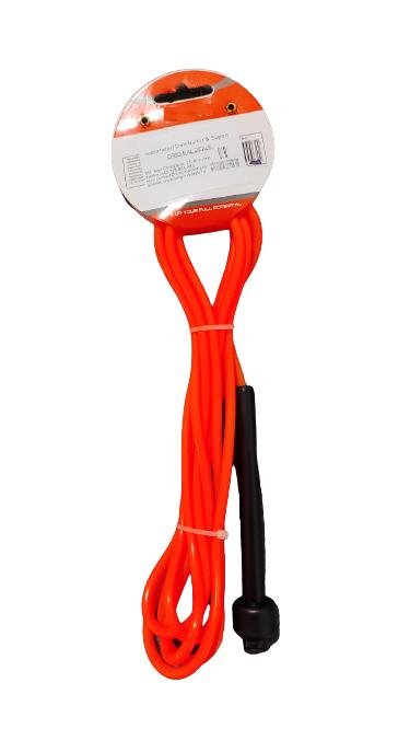 Coarda de Sarit pentru Antrenamente Sportive in Viteza Material PVC pentru Copii sau Adulti Model Universal Premium, 275cm, Neon [3]