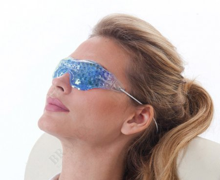 Compresa pentru Ochi cu Bile Reci, Pentru Relaxare Faciala [2]