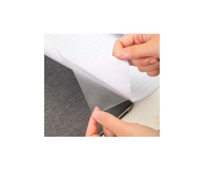 Folie pentru Protectie, cu Utilizare Multipla, Transparent, Rola 45cm x 200cm, Autocolant cu Adeziv, Premium [0]