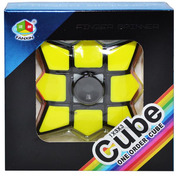 Jucarie Inteligenta Spinner Rubik cu 6 Culori si Diferite Posibilitati de Aranjare, Jucarie Antistres, Multicolor 1