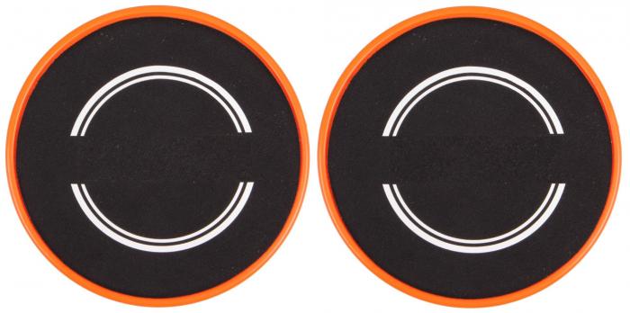 Set 2x Discuri Alunecare pentru Antrenament Sportiv Fitness, Usoare si Portabile, 18cm Premium 2