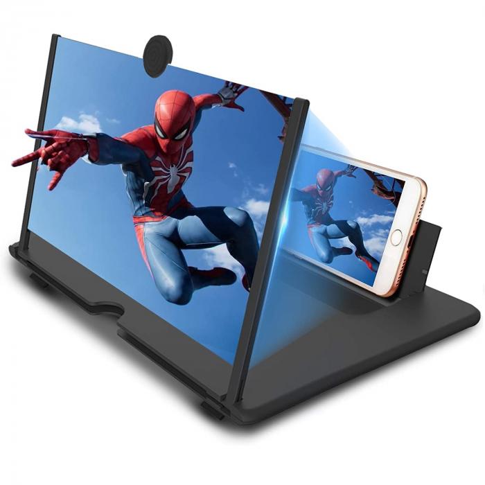 Dispozititv cu Ecran pentru Marire Imagine de pe Telefon, Efect de Lupa [3]