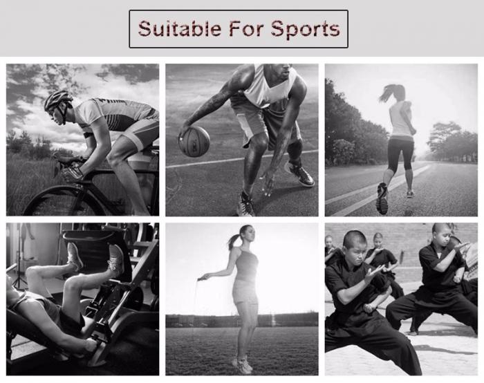 Glezniera pentru Protectie, Supraelastica, pentru Sportivi si Atleti, Premium, Original Deals® [18]