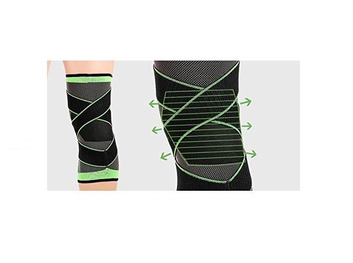 Genunchiera pentru Protectie Genunchi si Picior, Supraelastica pentru Sportivi si Atleti, Premium, Original Deals® [6]