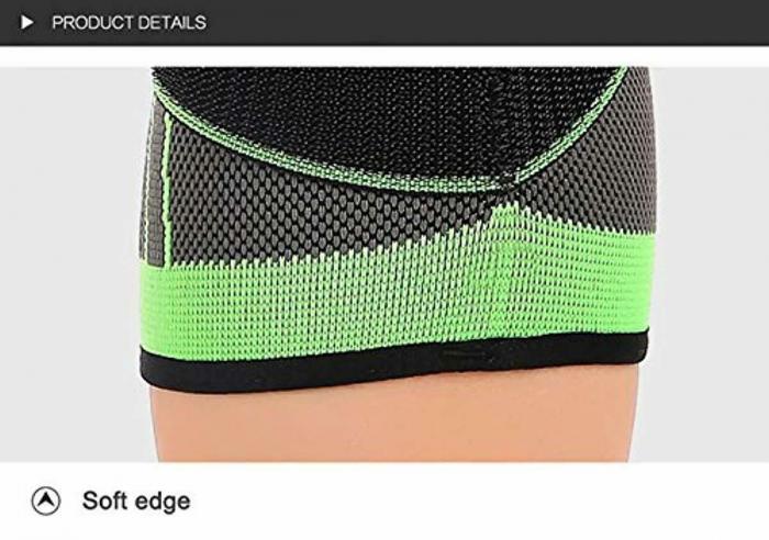 Genunchiera pentru Protectie Genunchi si Picior, Supraelastica pentru Sportivi si Atleti, Premium, Original Deals® [12]