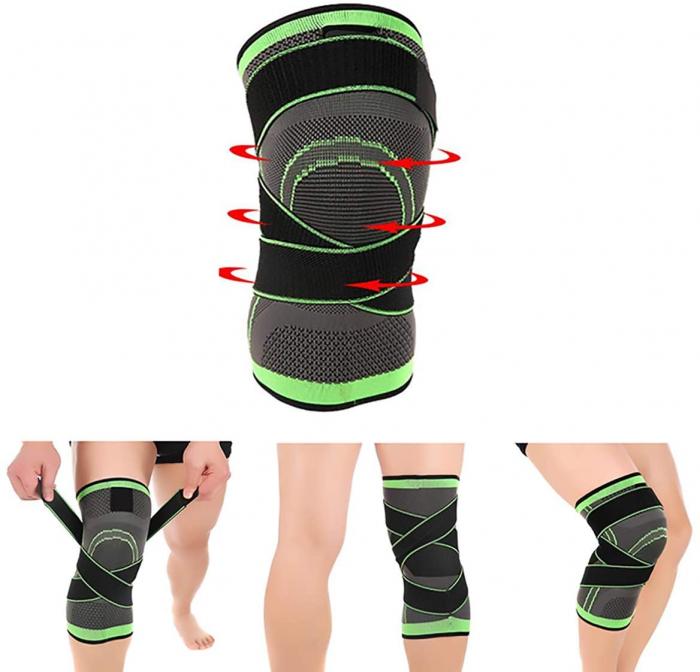 Genunchiera pentru Protectie Genunchi si Picior, Supraelastica pentru Sportivi si Atleti, Premium, Original Deals® [0]