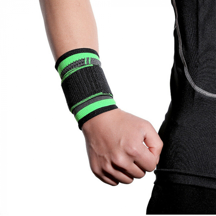 Banda pentru Protectie Incheietura Mainii, Supraelastica pentru Sportivi si Atleti, Premium, Original Deals® [2]