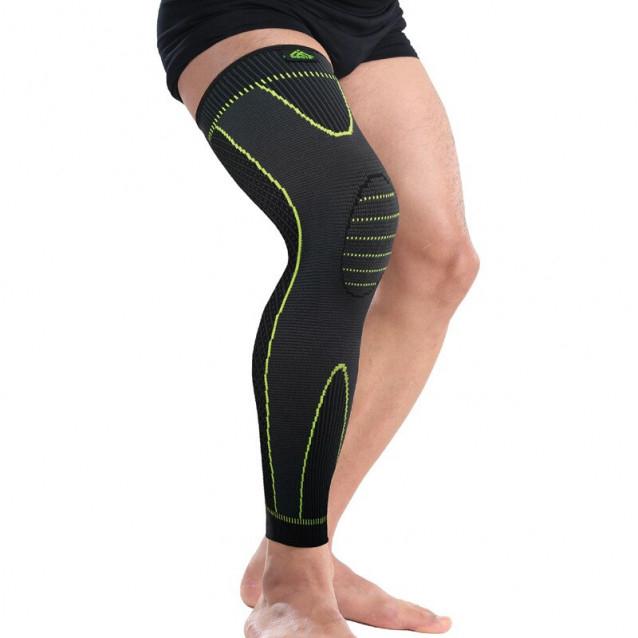Protectie Elastica pentru Genunchi, Gamba si Picior, Supraelastica pentru Sportivi si Atleti, Premium, Original Deals® [2]