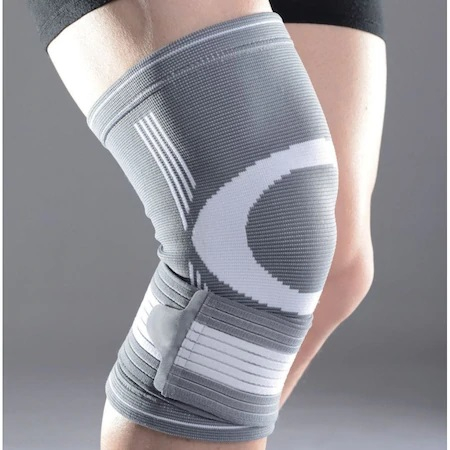 Genunchiera Supraelastica pentru Protectie Genunchi Picior, Marime Universala si Unica pentru Sportivi, Premium 5