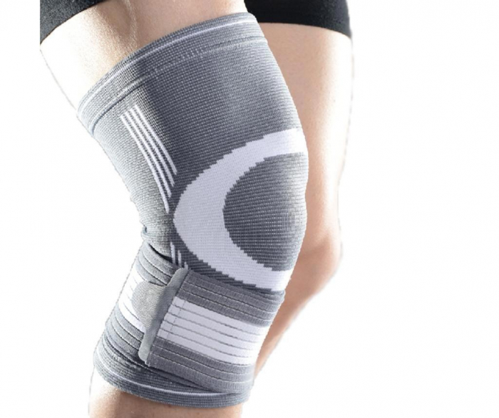 Genunchiera Supraelastica pentru Protectie Genunchi Picior, Marime Universala si Unica pentru Sportivi, Premium 0