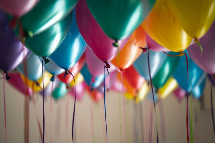 Set 25 de Baloane Multicolore, 30cm, cu Pompa Manuala, Pentru Petreceri [3]