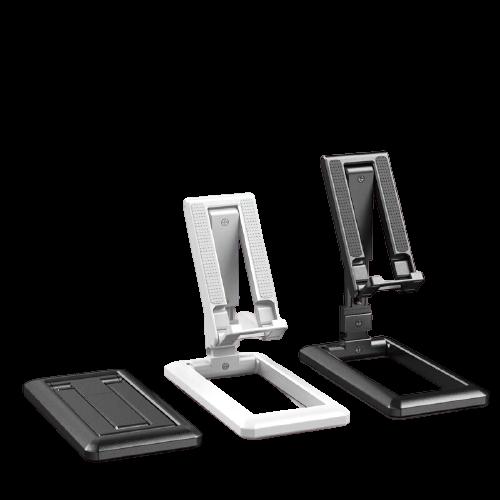 Suport Tableta sau Telefon Smartphone pentru Masa sau Birou - Pliabil Reglabil si Portabil Premium cu Reglaj Multiplu 8