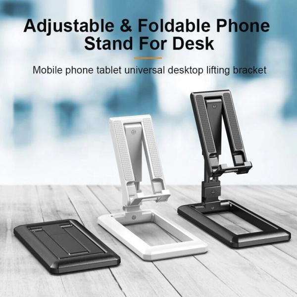 Suport Tableta sau Telefon Smartphone pentru Masa sau Birou - Pliabil Reglabil si Portabil Premium cu Reglaj Multiplu 4
