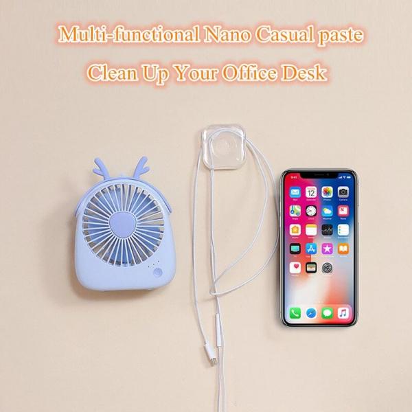 Suport Telefon Autoadeziv din Silicon Lipicios cu Posibilitate de Spalare pentru Folosire Indelungata 13
