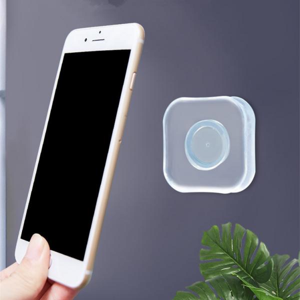 Suport Telefon Autoadeziv din Silicon Lipicios cu Posibilitate de Spalare pentru Folosire Indelungata 12