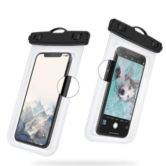 Husa Impermeabila pentru Telefon cu Touch Screen, Compatibilitate Maxim 6.5 Inch, pentru Activitati Acvatice [6]