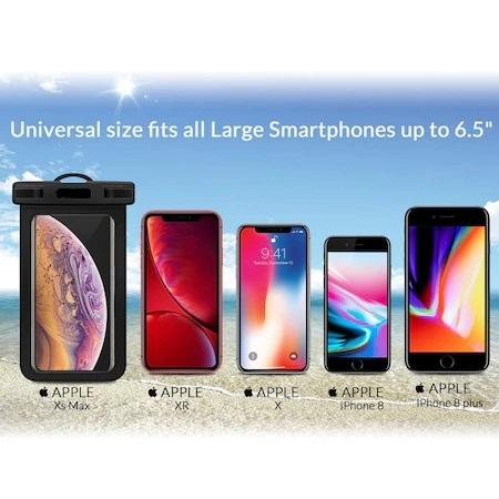 Husa Impermeabila pentru Telefon cu Touch Screen, Compatibilitate Maxim 6.5 Inch, pentru Activitati Acvatice [7]