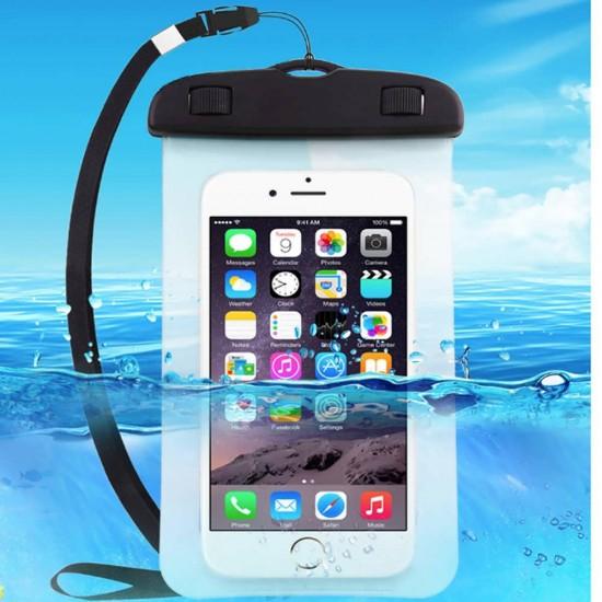 Husa Impermeabila pentru Telefon cu Touch Screen, Compatibilitate Maxim 6.5 Inch, pentru Activitati Acvatice [0]