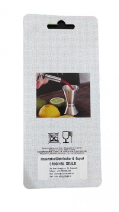 Set 2 Dopuri din Aluminiu si Pluta pentru Sticle de Vin, Model Premium cu Aerator, Inox [1]