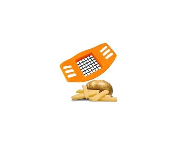 DIspozitiv pentru Feliat si Taiat Cartofii Pai pentru Prajit, Portocaliu [2]