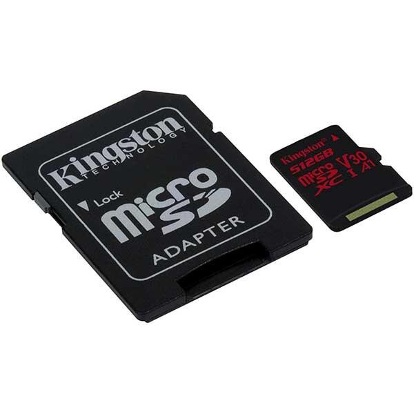 Card de Memorie Micro SD 512 GB, Compatibil Telefon, Tableta, Camera Foto si Video, Console Jocuri, Model Premium, Kingston [3]