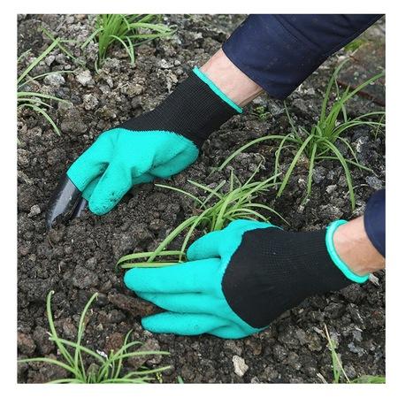 Manusi pentru Gradinarit cu 4 Gheare din PVC, pentru Greblat, Plantat, Sapat 3