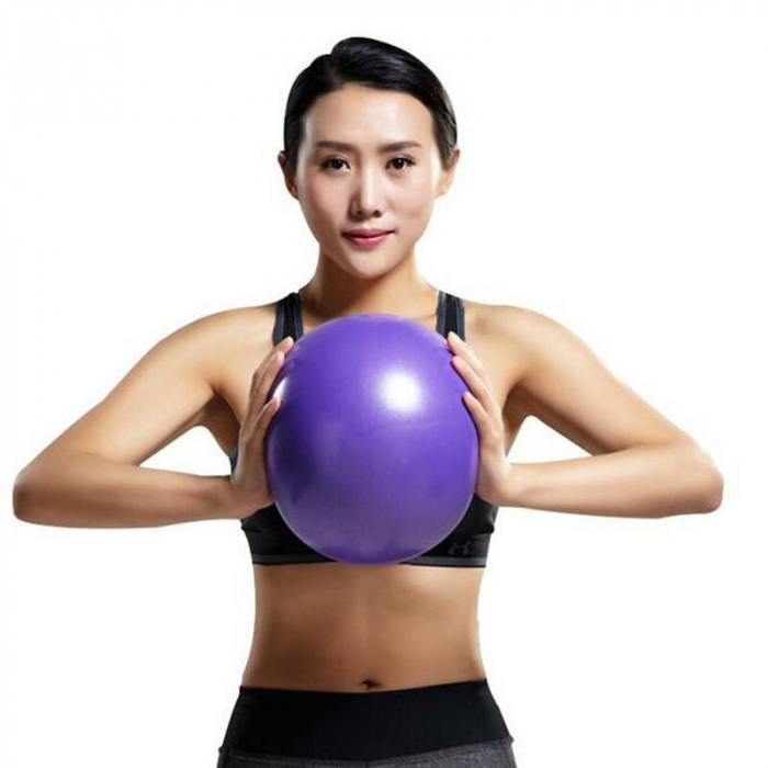 Minge Medicinala pentru Exercitii Fitness, Aerobic, Pilates, Yoga, Gonflabila, Premium 20cm, Rezistenta 100Kg [3]