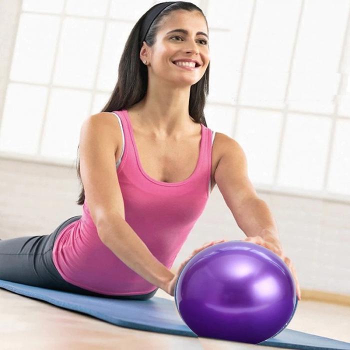 Minge Medicinala pentru Exercitii Fitness, Aerobic, Pilates, Yoga, Gonflabila, Premium 20cm, Rezistenta 100Kg [0]