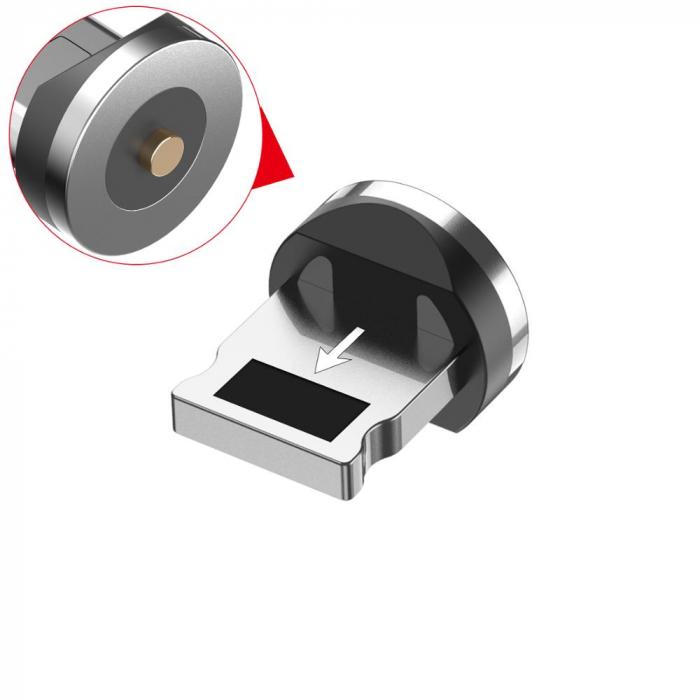 Mufa Magnetica cu Rotire 360° Pentru Cabluri USB cu incarcare Rapida si Transfer de Date 480MB/s, Noua Generatie 2