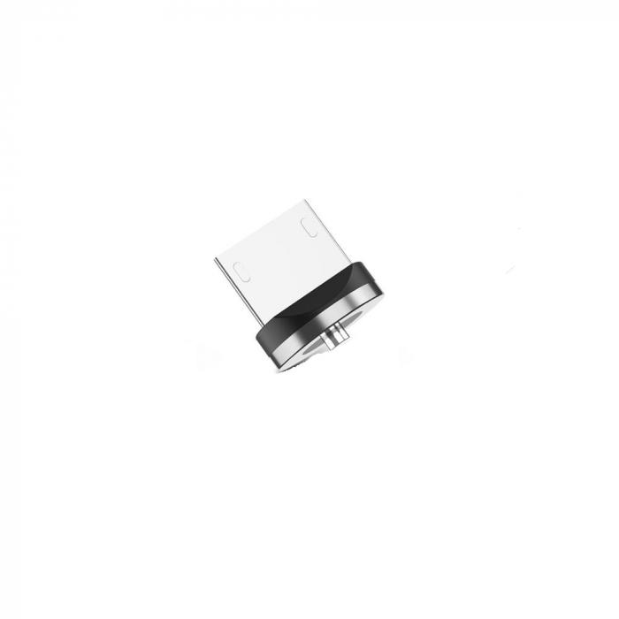 Mufa Magnetica cu Rotire 360° Pentru Cabluri USB cu incarcare Rapida si Transfer de Date 480MB/s, Noua Generatie 4