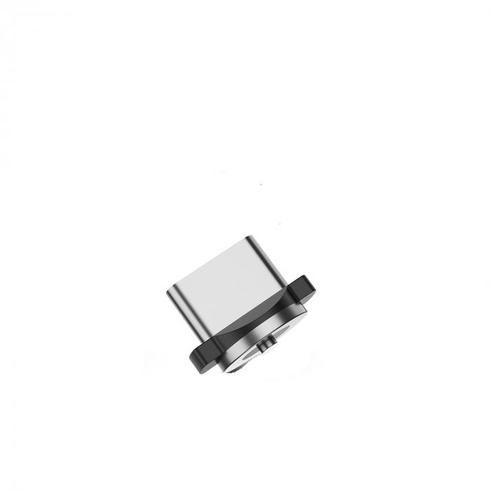 Mufa Magnetica cu Rotire 360° Pentru Cabluri USB cu incarcare Rapida si Transfer de Date 480MB/s, Noua Generatie 6