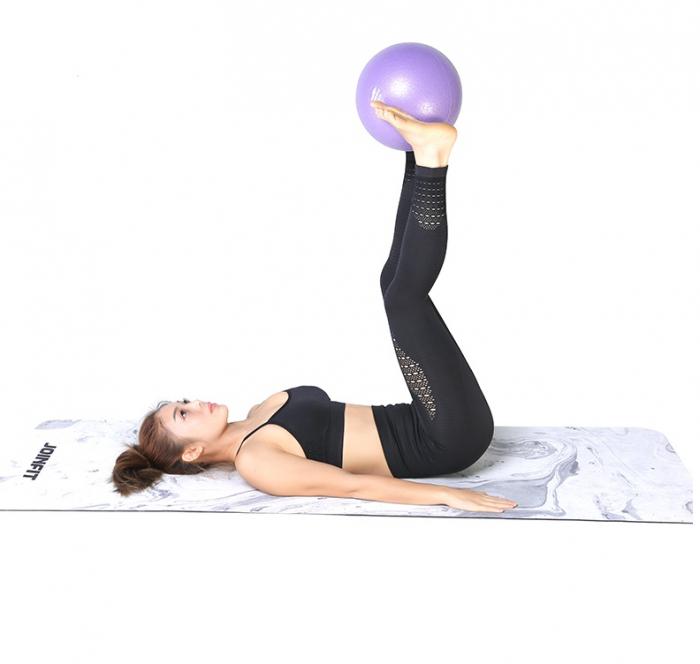 Minge Medicinala pentru Exercitii Fitness, Aerobic, Pilates, Yoga, Gonflabila, Premium 20cm, Rezistenta 100Kg [1]