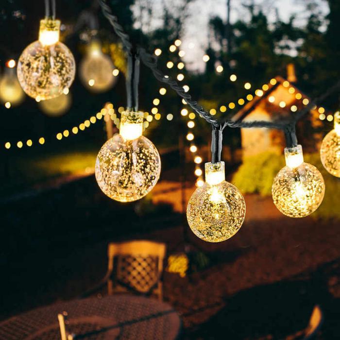 Instalatie Ghirlanda cu 20 Becuri LED, Lumina Alba Calda, Premium, Original Deals® [0]