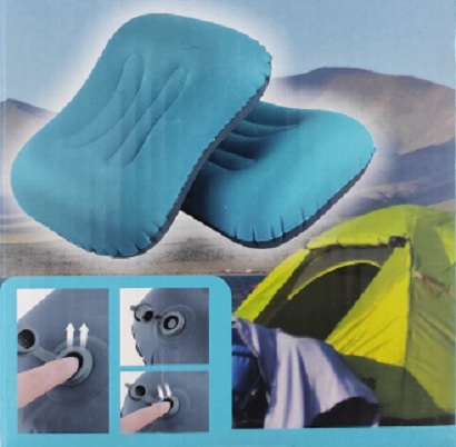 Perna Gonflabila Copii sau Adulti pentru Casa, Masina sau Camping, 49 x 34cm, Premium [2]