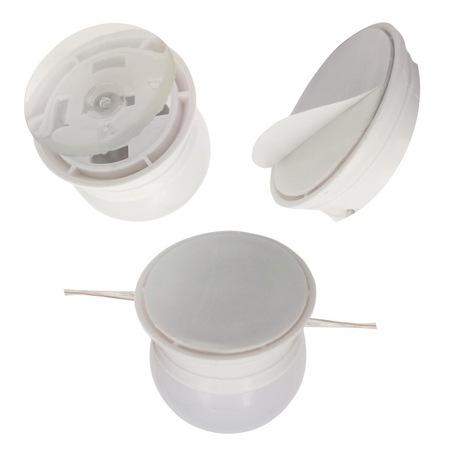 Set Instalatie 10 Becuri LED pentru Oglinda cu Alimentare prin USB, Lumina 6500K, 4 metrii, Reglarea Intensitarii Luminii, Alb [7]