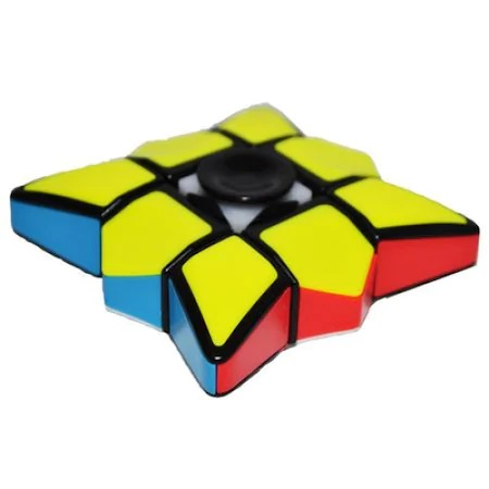 Jucarie Inteligenta Spinner Rubik cu 6 Culori si Diferite Posibilitati de Aranjare, Jucarie Antistres, Multicolor 4