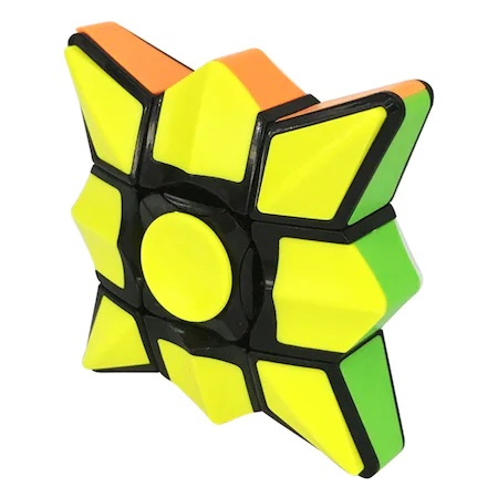 Jucarie Inteligenta Spinner Rubik cu 6 Culori si Diferite Posibilitati de Aranjare, Jucarie Antistres, Multicolor 2