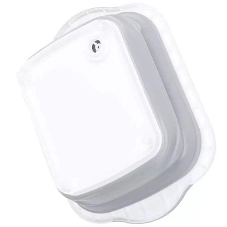 Tocator si Caston Pliabil din PVC si Silicon cu Buton de Scurgere a Apei, Premium [11]