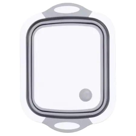 Tocator si Caston Pliabil din PVC si Silicon cu Buton de Scurgere a Apei, Premium [16]