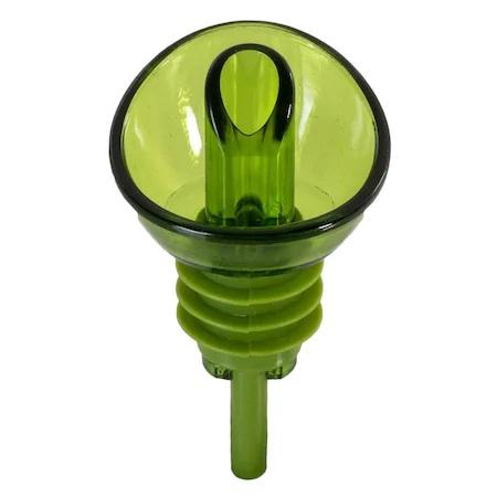 Set 2 Dopuri din PVC pentru Sticle de Ulei Masline si Ulei Floarea Soarelui, Model Premium Universal, Verde [1]