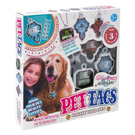 Set Interactiv si Distractiv pentru Creeat 3 Medalioane pentru Animale de Companie, Catei sau Pisici, Universal [0]