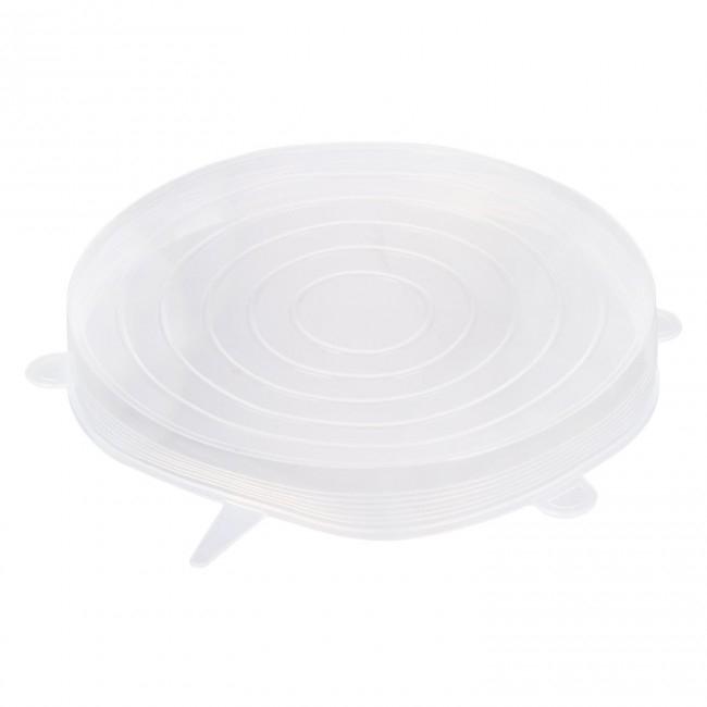 Set 3 Capace din Silicon Flexibile pentru Oale, Cratite, Caserole si Alimente, 6 cm, 12cm, 16cm, Premium [13]