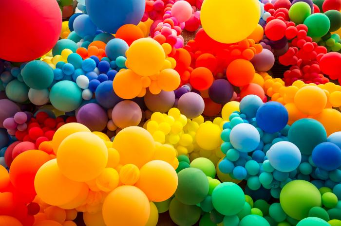 Set 25 de Baloane Multicolore, 30cm, cu Pompa Manuala, Pentru Petreceri [5]