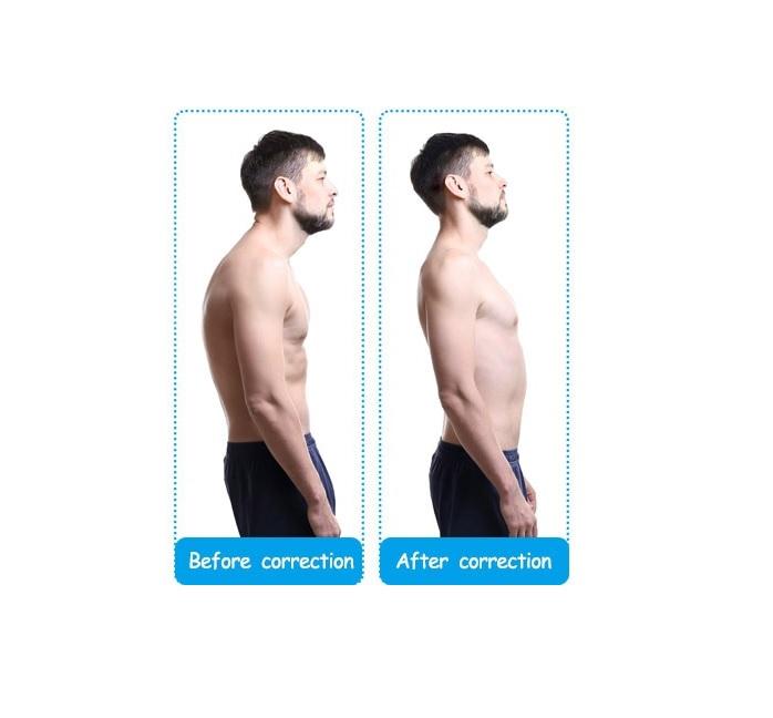Suport de Sprijin pentru Spate si Corectarea Posturii si a Coloanei Vertebrale, Model Unisex Reglabil, Usor de Montat si  Purtat [2]