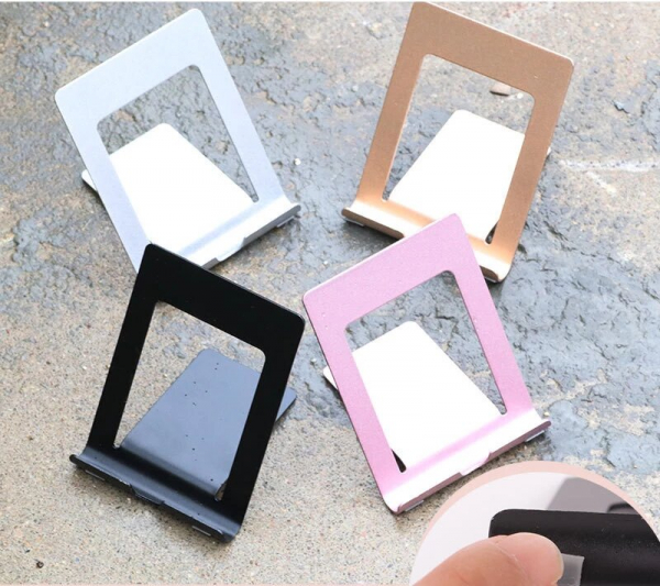 Suport Tableta Notepad si SmartPhone Telefon pentru Masa sau Birou Desktop - Premium Negru [4]