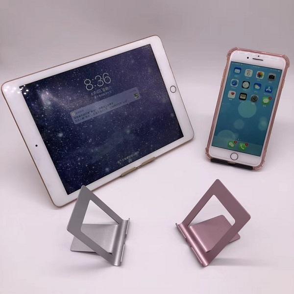 Suport Tableta Notepad si SmartPhone Telefon pentru Masa sau Birou Desktop - Premium Negru 0
