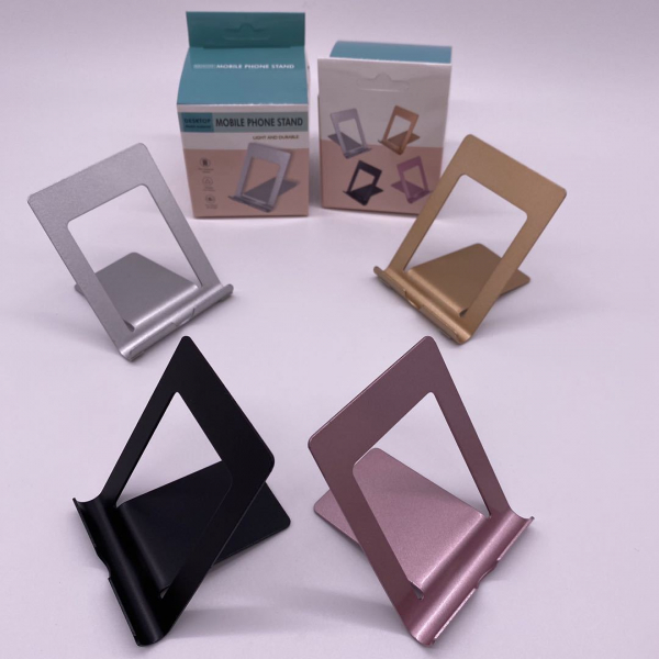 Suport Tableta Notepad si SmartPhone Telefon pentru Masa sau Birou Desktop - Premium Negru 3