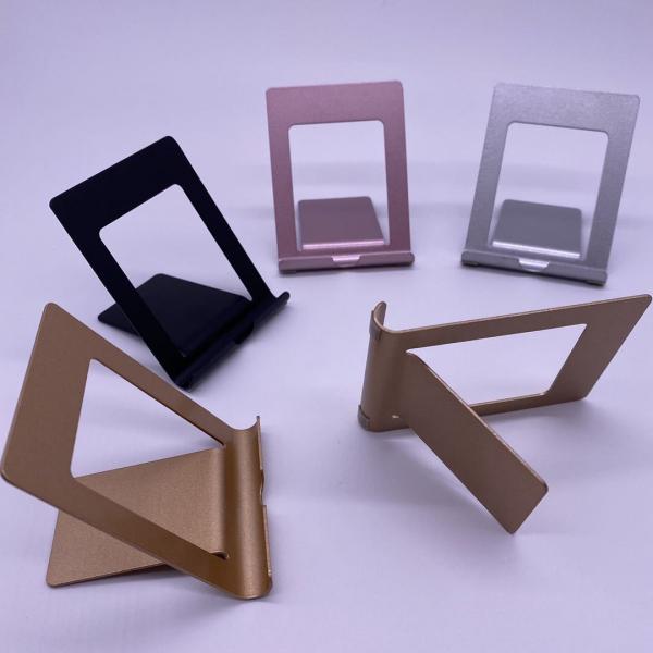 Suport Tableta Notepad si SmartPhone Telefon pentru Masa sau Birou Desktop - Premium Negru [9]