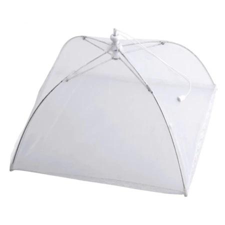 Umbrela de Protectie Impotriva Insectelor, Furnicilor si Gandacilor pentru Farfurii, Caselore si Alimente, Alb, 31cm x 31cm [5]